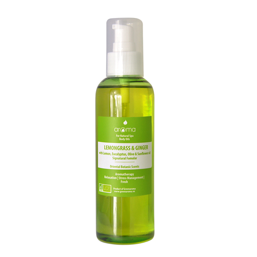 Body Oil Lemongrass & Ginger (Dầu Spa Sả chanh & Gừng)